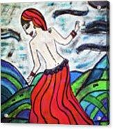 Danza De Mar Y Luna Acrylic Print