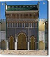Dar-el-makhzen The Royal Palace Acrylic Print