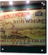 D'arcy's Old Irish Whiskey Acrylic Print