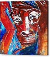 Darfur - She Cries Acrylic Print