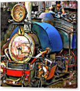 Darjeeling Toy Train Acrylic Print