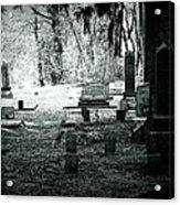 Dark As The Grave Acrylic Print
