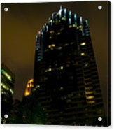 Dark Atlanta Acrylic Print
