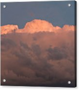 Dark Brooding Cloudscape Acrylic Print