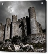 Dark Castle Acrylic Print by Carlos Caetano