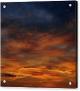 Dark Clouds Acrylic Print by Michal Boubin