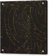 Dark Energy With Lighting Acrylic Print