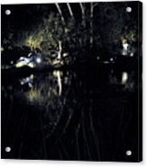 Dark Reflections Acrylic Print