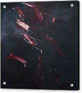 Dark Serie, X Acrylic Print