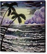 Dark Storm Approaching Acrylic Print