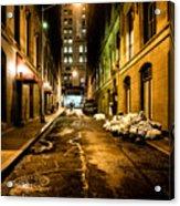 Dark Street Acrylic Print