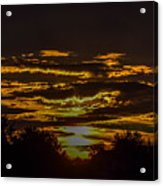 Dark Sunrise Acrylic Print