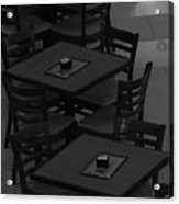 Dark Tables Acrylic Print