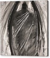 Dark Winged Demon Acrylic Print