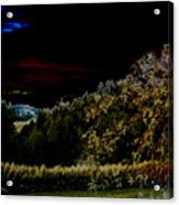 Darkness At The Edge Of Dawn Acrylic Print