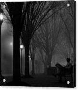 Darkness Falls Acrylic Print