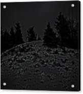 Darkscape Acrylic Print by Timothy Hedges