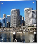 Darling Harbour Sydney Australia Acrylic Print