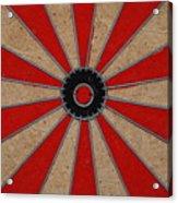 Dart Board Acrylic Print