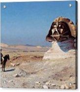 Darth Sphinx 2 Acrylic Print