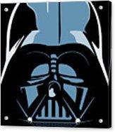 Darth Vader Acrylic Print by IKONOGRAPHI Art and Design