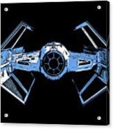 Darth Vaders Tie Figher Advanced X1 Tee Acrylic Print