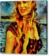 Daryl Hannah Collection - 1 Acrylic Print