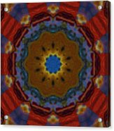 Das Bunte Kaleidoskop Acrylic Print