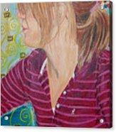 Das Girl Acrylic Print