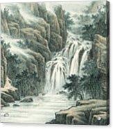 Dashan Waterfall Acrylic Print