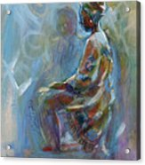 Dashiki Acrylic Print
