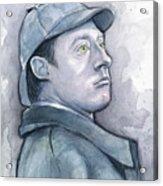 Data As Sherlock Holmes Acrylic Print