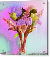 Dating Flowers Acrylic Print