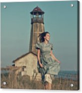 Daughter Of The Lighthouse Keeper Acrylic Print