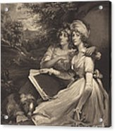 Daughters Of Sir Thomas Frankland Bart (the Sisters) Acrylic Print