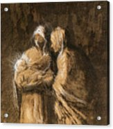 Daumier: Virgin & Child Acrylic Print