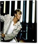David Bowie Action Man Acrylic Print