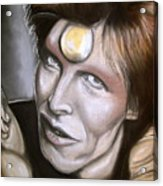 David Bowie As Ziggy Stardust Acrylic Print