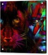David Bowie - Cat People  Acrylic Print