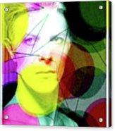 David Bowie Futuro  Acrylic Print