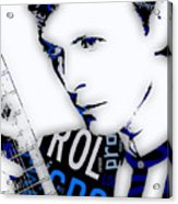 David Bowie Ground Control To Major Tom Acrylic Print