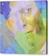 David Bowie Acrylic Print by Naxart Studio