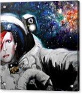 David Bowie, Star Man Acrylic Print