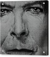 David Bowie - Eyes Of The Starman Acrylic Print