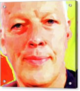 David Gilmour # 001 Nixo Acrylic Print
