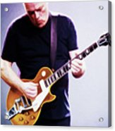 David Gilmour By Nixo Acrylic Print