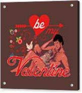 David Hasselhoff Valentine' Day Acrylic Print