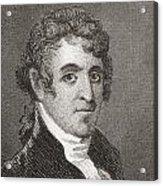 David Humphreys,1752 To 1818 Acrylic Print