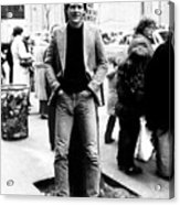 David Letterman, 010882 Acrylic Print