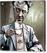 David Lynch - Strange Brew Acrylic Print